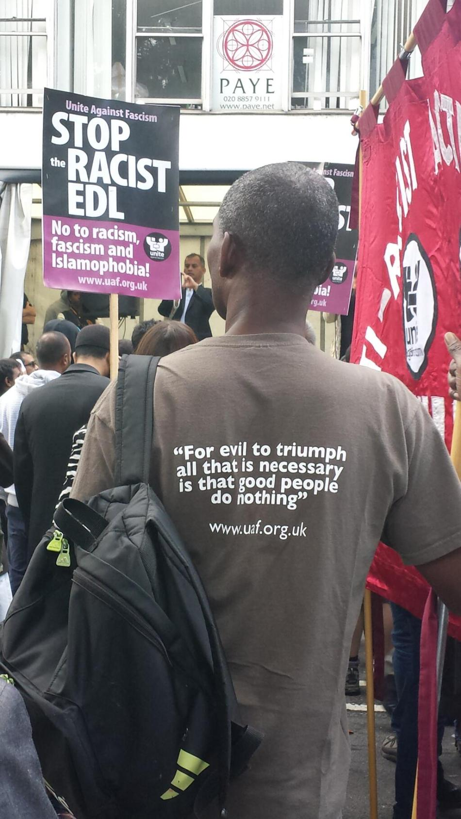 Fascist Group EDL Diminished by Tower Hamlets in Solidarity