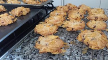 cornflake biscuits, healthy snack, cookies, cereal, biscuits, food, baking