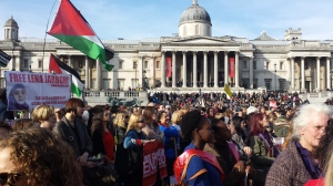 MWR rally london 2014, Palestinian Political Prisoners