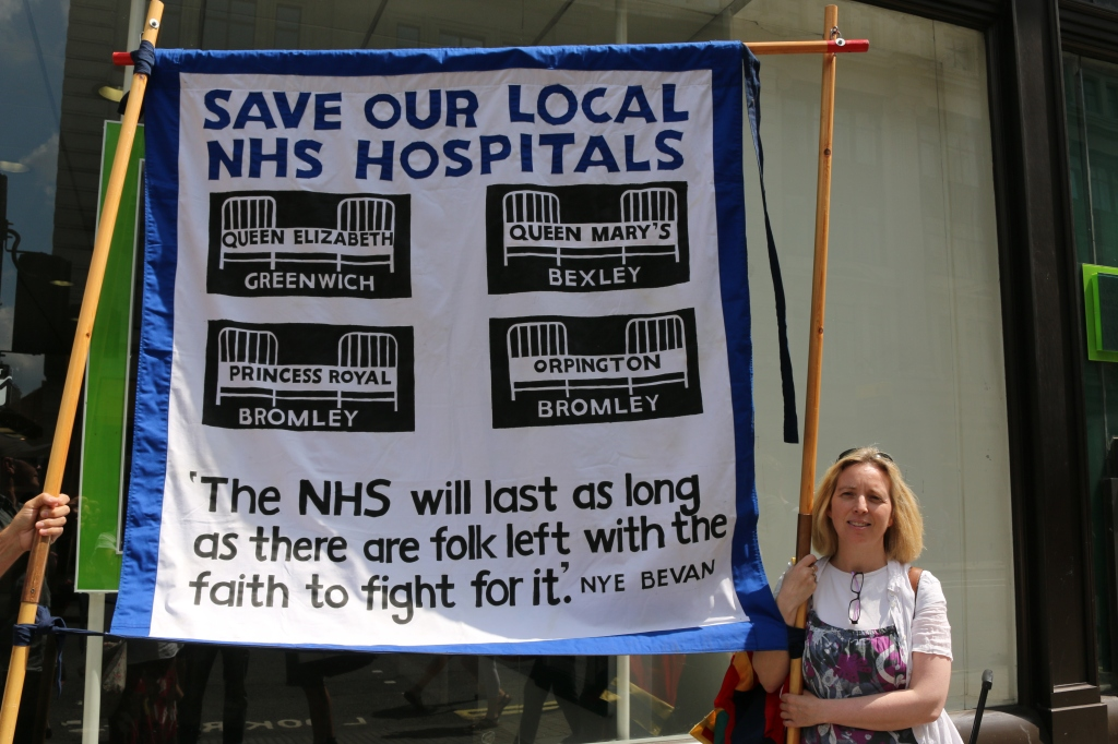 """Judith, NHA Party, featured in """"Stop Cuts Against Vulnerable Disabled People"""""""