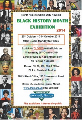 Black History Month Exhibition, E14