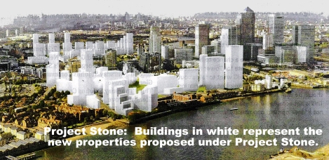 Project Stone Image - OHG plans for the Isle of Dogs