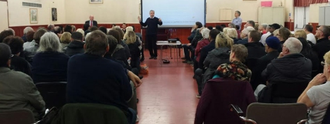 Isle of Dogs Residents meet to discuss Project Stone
