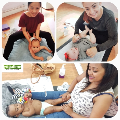 Baby Massage Class in Newham and London