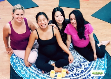 Pregnancy Yoga Class at Yogalime in Britannia Village