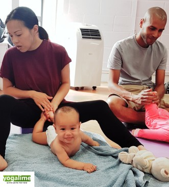 Baby Massage at Yogalime
